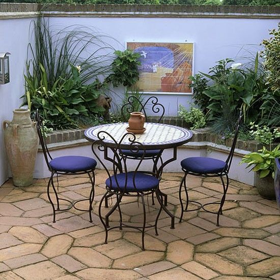Moroccan Style Garden Terrace Gardens Furniture And Terrace