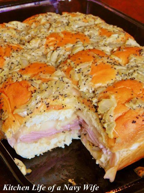 39Hawaiian Baked Ham and Swiss Sandwiches39 Source King39s