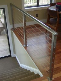 wire cable railings | stair railing is a deco steel ...