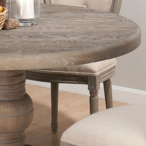 Burnt Grey Kitchen Table Renaissance Round Table  Oval