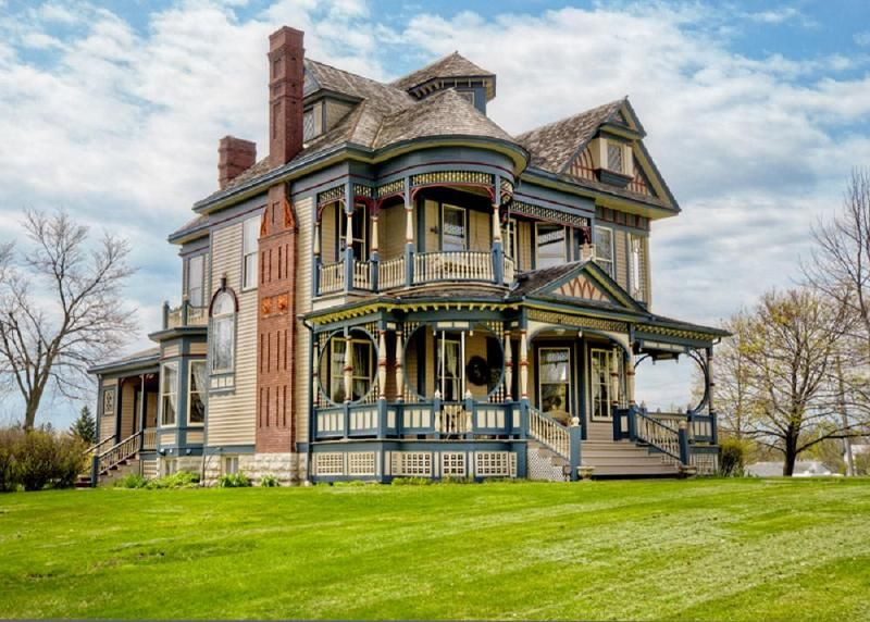Queen Anne Victorian 1897 For Sale Osceola IA Queen Anne House