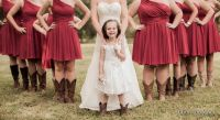 bridesmaid dresses with cowgirl boots | Bridesmaids ...