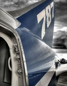 The tail of  boeing dreamliner my brother installs engines on these planes also http aviationexplorer airplanes rh pinterest