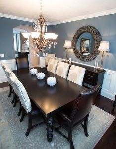 Do you know how to decorate your dining room like an expert also blue rh pinterest