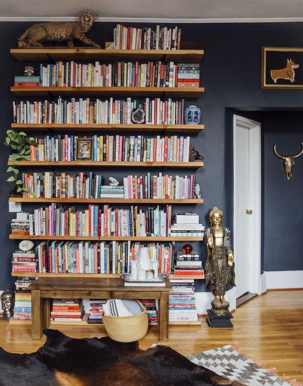 Floating Wall Bookshelf