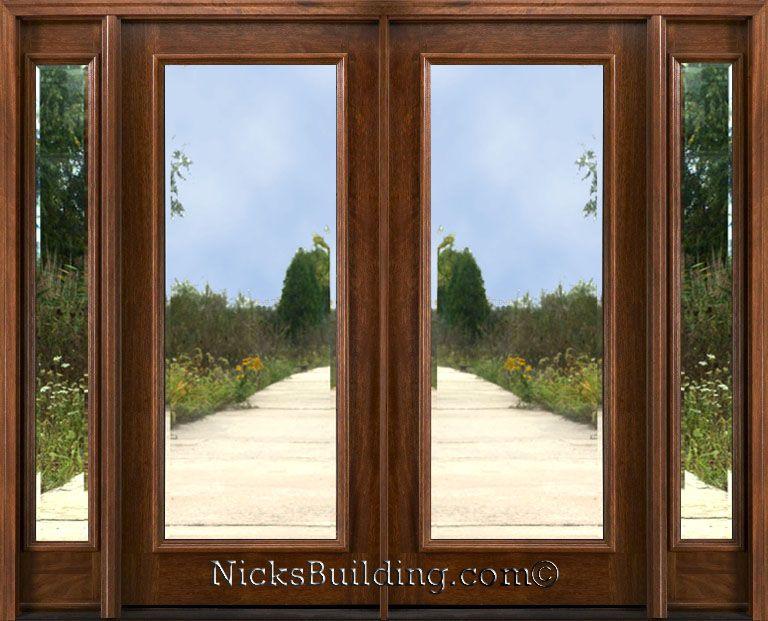 glass double doors exterior home depot