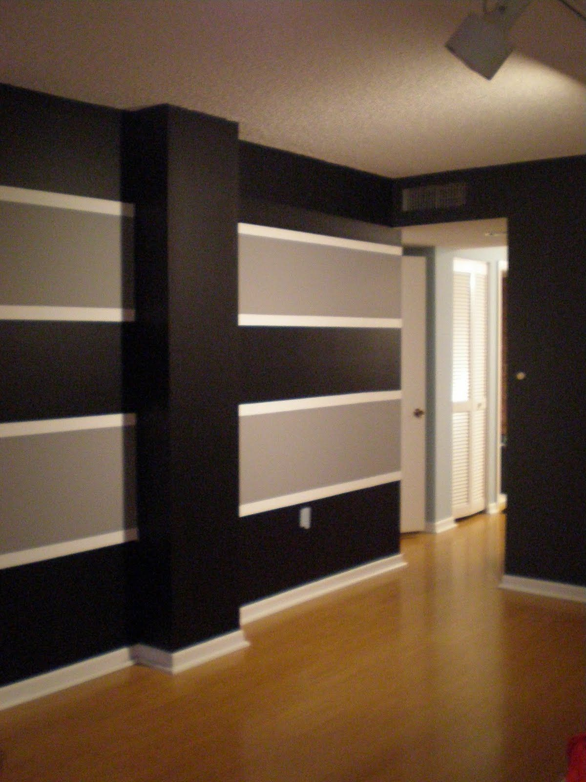 paint stripes on wall ideas painting stripes