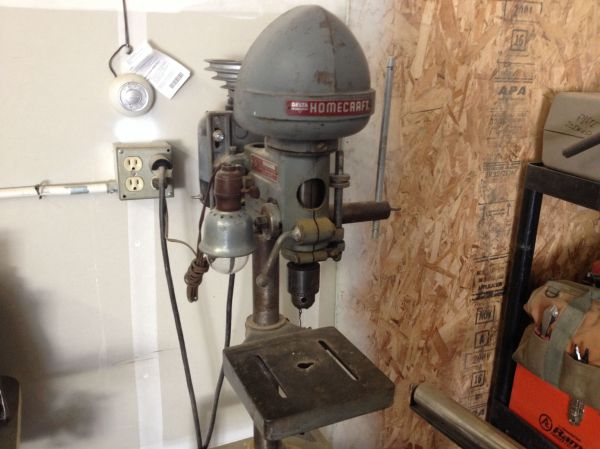 Vintage King Seeley Craftsman Drill Press - Year of Clean Water