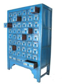 Traditional Chinese Herbal Medicine Cabinet with a modern ...