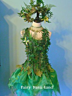 Green Forest Nymph Costume Forest Elf Make Up Pinterest