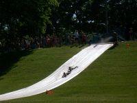 homemade waterslides | HALFWAY TO SIXTY: The Super Slip N ...