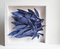 Ceramic wall art, ceramic fish art, sculptural pottery ...