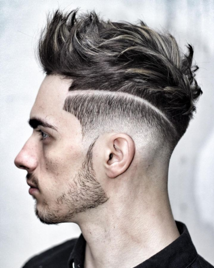 Mens Hairstyles 2016 Short Sides Long Top Mens Hair Short On Sides