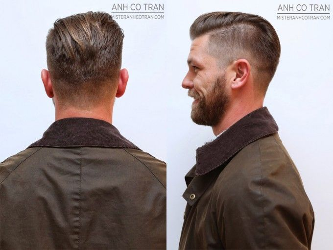 Undercut Side And Back View Slin Fade Tapering Undercut