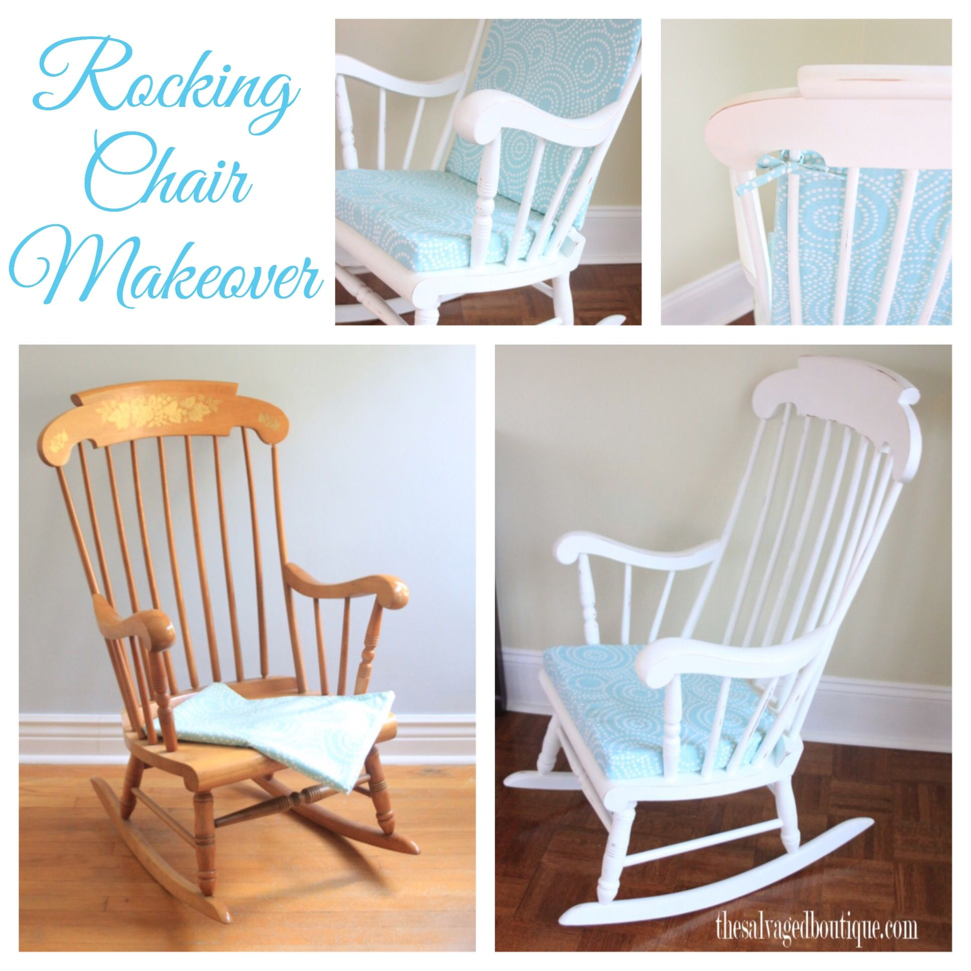 Rocking Chair For Baby Room Vintage Rocking Chair Makeover For A Baby Nursery Annie