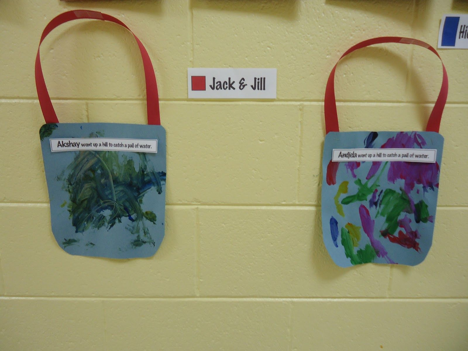Jack And Jill Use The Student S Name Trinity Preschool