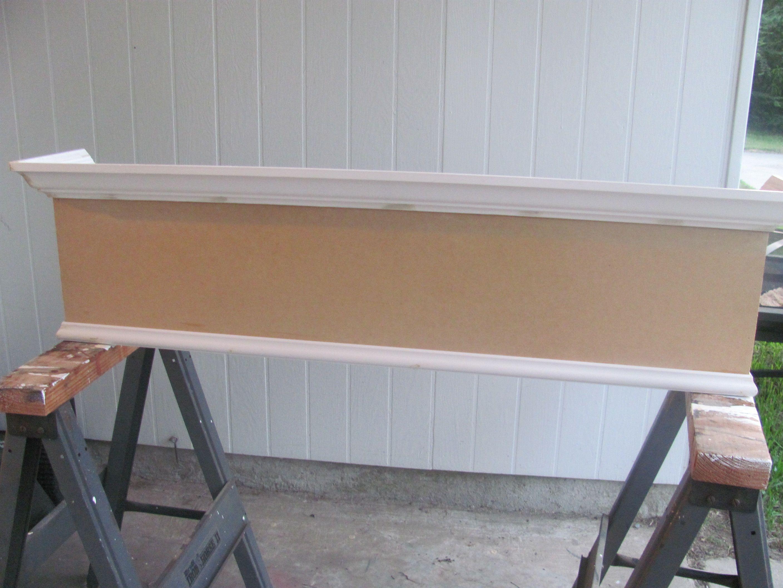 Cornice Fit Wooden Board