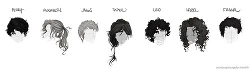 Heroes Of Olympus Hairstyles Artist Anxiouspineapples