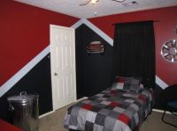 Image result for bedroom painting ideas for teen boy's