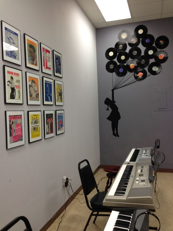 Music Studio Wall Decor