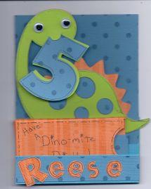 5 Year Old Boy Birthday Card