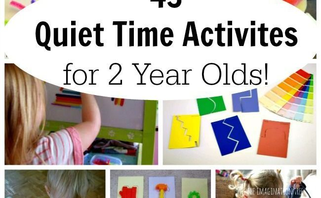 43 Quiet Time Activities For 2 Year Olds Time Activities