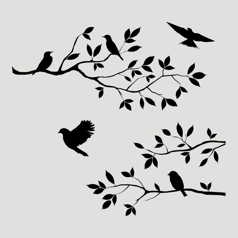 Tree Stencils Designs