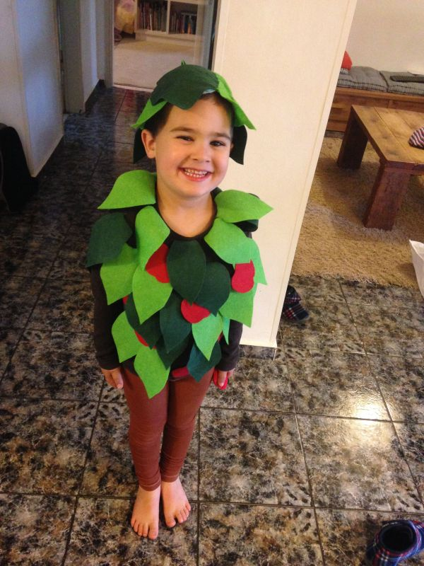 Apple Tree Costume #diy #apple #tree #
