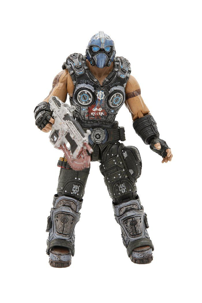 Gears Of War 3 Clayton Carmine Action Figure WANTED List