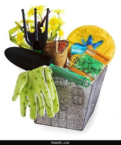 Garden Gift Basket Ideas Gardening Basket Gift Ideas Double
