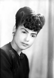 hairstyle 1940's mexican