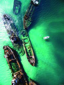 Snorkel Shipwrecks In Moreton Island Queensland