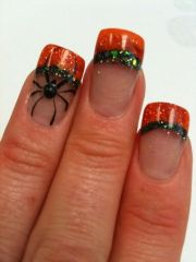 nails - halloween fall