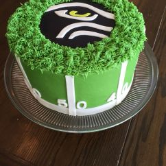 Paint For Adirondack Chairs Waterproof Outdoor Chair Covers Australia Seahawks Cake | My Cakes And Cookies Pinterest Best Ideas