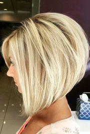fantastic stacked bob haircut