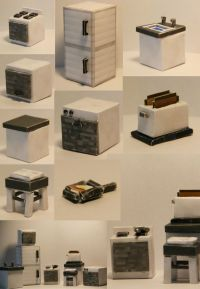 Papercraft Kitchen (Furniture) This design is BASED on the ...
