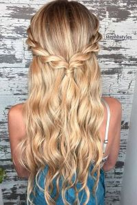 10 Easy Hairstyles for Long Hair - Make New Look!   Easy ...