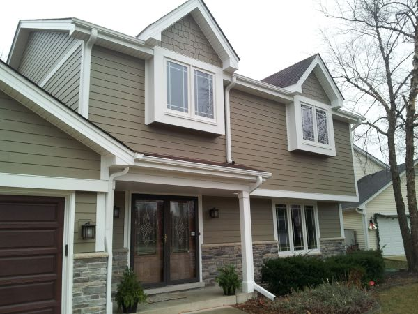 HardiePlank HardieShingle Siding Woodstock Brown