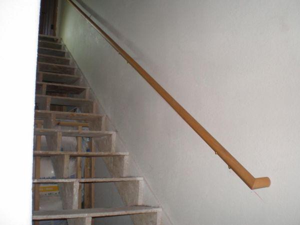 Basement Stair Handrails