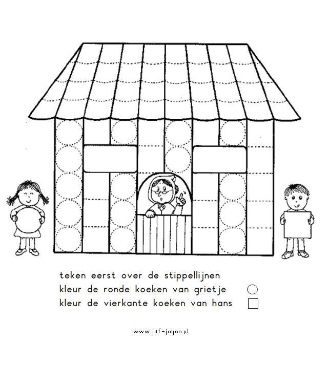 Worksheet Hansel and Gretel from Juf Joyce Werkblad Hans