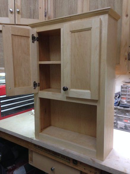Bathroom Wall Cabinet  Woodworking  Pinterest  Bathroom