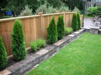 backyard fencing | privacy fence fence sod irrigation ...