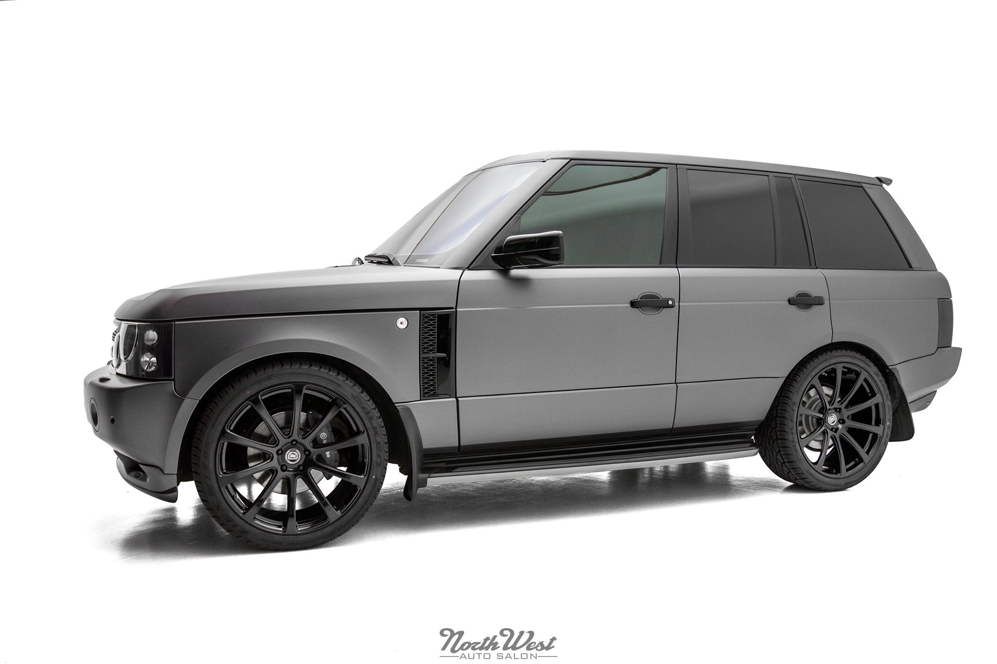 Overfinch Range Rover HSE Vehicle Wrap on DPE Wheels at NWAS