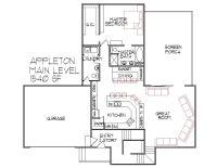 3 bedroom 3 Bath Split Level Architect Designed Home Plans ...