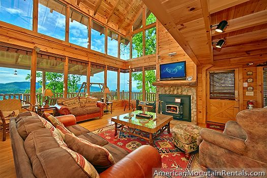 Highland Lodge 61 Cabin Al Near Pigeon Forge 3 Bedroom For 325
