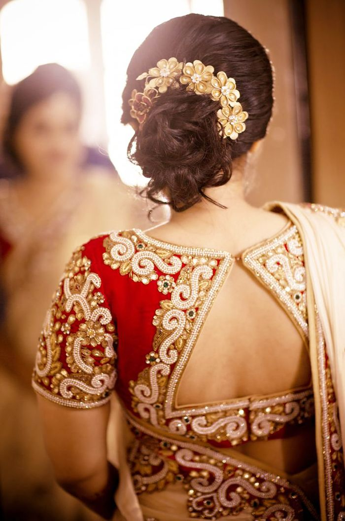 indian wedding hairstyles for short hair  Google Search