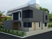 3D Architectural Models of Houses