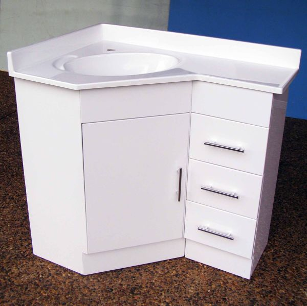 Corner Sink Bathroom Vanity Units