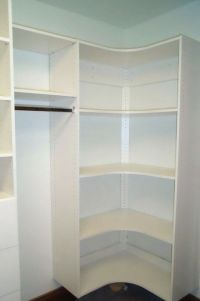 walk in closet corner shelves - Google Search | Walk in ...