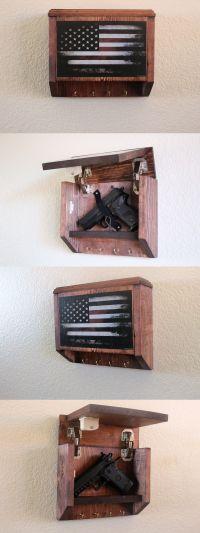 Cabinets and Safes 177877: Hidden Gun Storage Key Rack ...